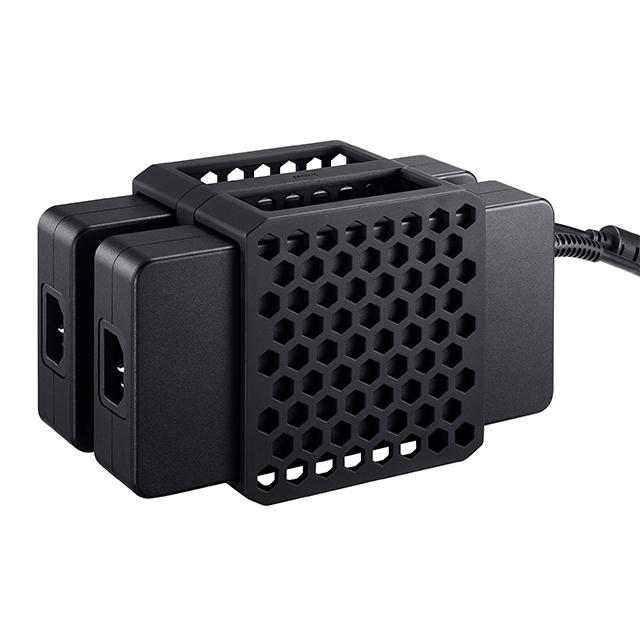 2 x Adaptadores de corriente adicional 280W
