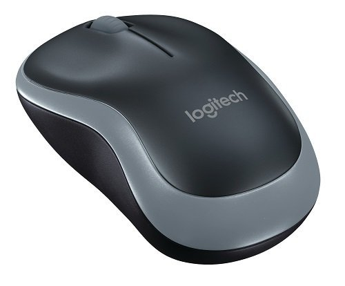 Raton Logitech M185 BLACK Wireless