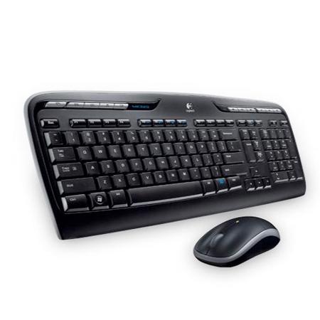 Logitech MK330 wireless keyboard and mouse